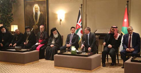 الملك يؤكد أن استقرار الأردن وأمنه يعتمد على وحدتنا الوطنية واحترام الجميع لسيادة القانون.