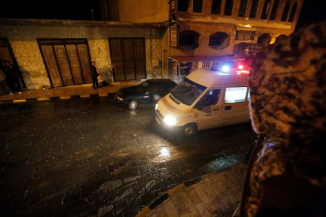 """""""الأمن"""" يعلن انتهاء الاشتباك مع الخلية الإرهابية ومقتل 4 إرهابيين وضبط أسلحة ومتفجرات وأحزمة ناسفة"""