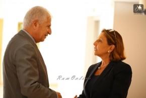 معالي الدكتور صالح ارشيدات يلتقي السفيرة الاسبانية